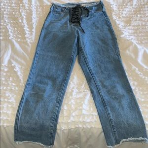 Princess Polly lioness perfect condition jeans